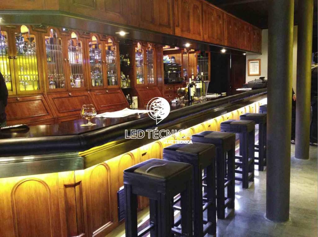 Iluminaci n led para bares en espa a proyectos de for Iluminacion led en terrazas