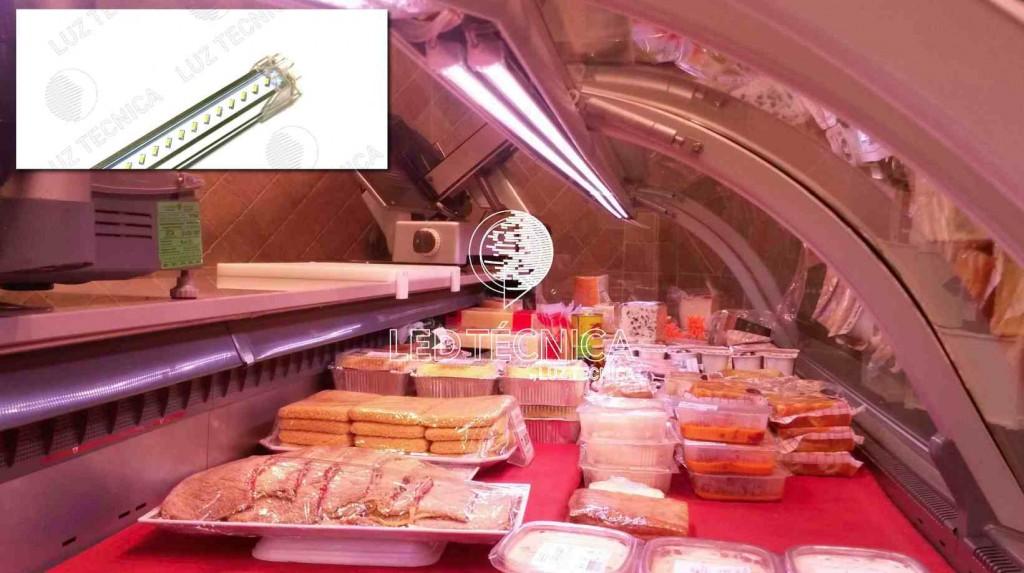 iluminacion led para vitrinas alimentacion Luztecnica